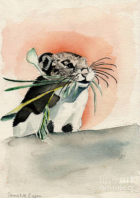 Hamster Original by Genevieve Esson