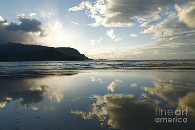 Hanalei Bay Sunset Print by Kicka Witte - Printscapes