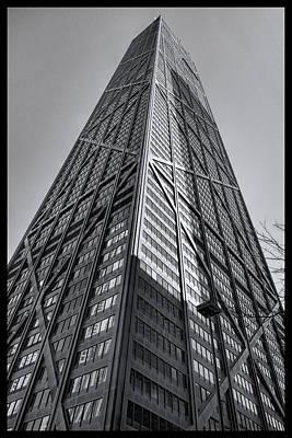 Hancock Building Digital Art - Hancock Chicago by Daniel Hagerman