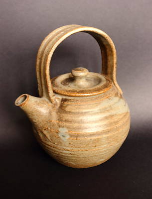 Hand Thrown Pottery Photograph - Hand Thrown Teapot by Jeff Townsend