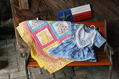 Homemade Quilts Photograph - Handmade Crafts by Linda Phelps
