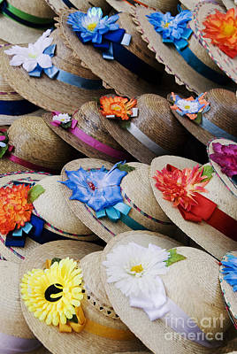 Handmade Hats Print by Gloria & Richard Maschmeyer - Printscapes