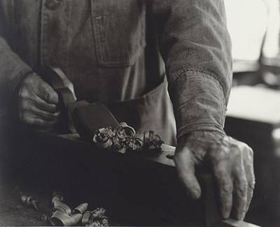 Hands Of Shaker Brother Ricardo Belden Print by Everett