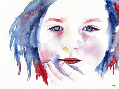Innocence Painting - Hannah by Michelle Sheppard