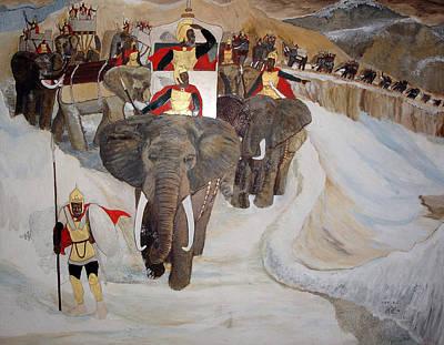 Black History Painting - Hannibal by Lee McCormick