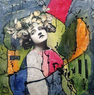 Mixed Media - Happenstance by Susan McCarrell