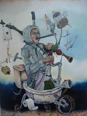 Happily Poor Print by Carlos Rodriguez Yorde