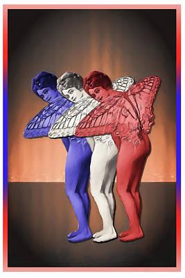 4th July Digital Art - Happy Birthday America by John Haldane