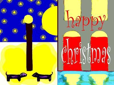 Happy Christmas 109 Print by Patrick J Murphy