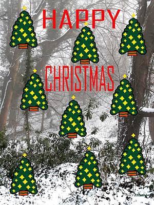 Happy Christmas 22 Print by Patrick J Murphy