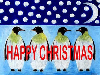 Happy Christmas 24 Print by Patrick J Murphy