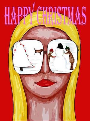 Happy Christmas 75 Print by Patrick J Murphy