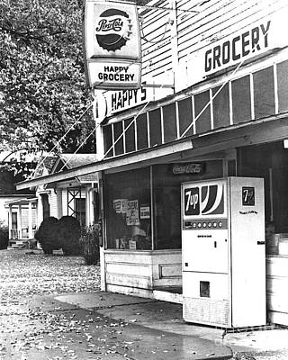 7up Sign Photograph - Happy Grocery  by Catherine Sherman