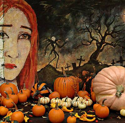 Ghost Digital Art - Happy Halloween by Jeff Burgess