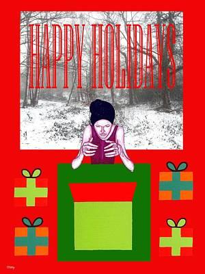 Happy Holidays 63 Print by Patrick J Murphy