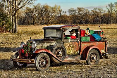 Colorado Christmas Photograph - Happy Holidays From Boulder County Colorado by James BO  Insogna