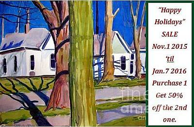 Giving Painting - Happy Holidays Sale- All Works by Charlie Spear