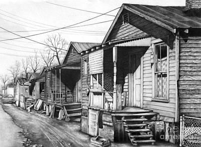 Hard Knock Life Print by David Neace