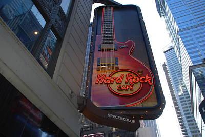Hard Rock Cafe N Y C Original by Rob Hans