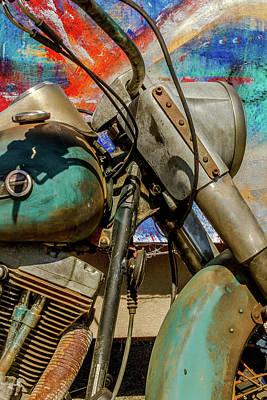 Classic Cycle Photograph - Harley Davidson - American Icon II by Bill Gallagher