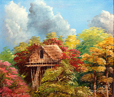 High Side Painting - Hariet by Jason Sentuf