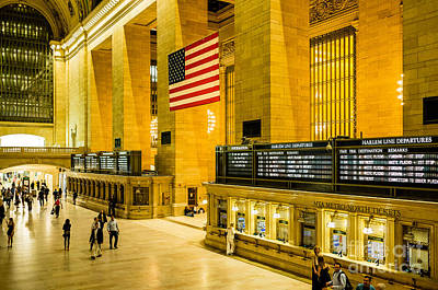 Print featuring the photograph Grand Central Pride by M G Whittingham