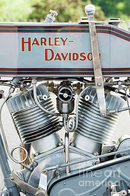 Harley Davidson Photograph - Harley Davidson 11f by Tim Gainey