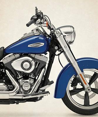 Harley Davidson Photograph - Harley Davidson Dyna Switchback 2015a by Stephanie Hamilton