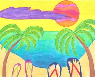 Harmony Cove Print by Geree McDermott