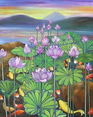 Sakura Painting - Harmony No.2 Summer by Sumiyo Toribe