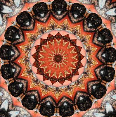 Tibetan Buddhism Mixed Media - Harmony  by Sandra Gallegos