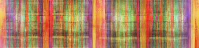 Harmony Stripes Print by Ab Stract