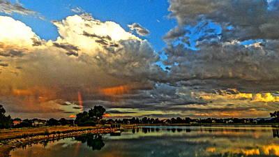 Photograph - Harper Lake by Eric Dee