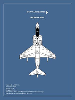 Harrier Photograph - Harrier Gr5 by Mark Rogan