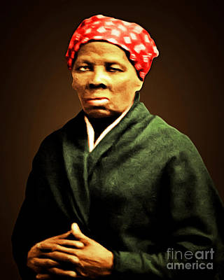 Harriet Tubman Underground Railroad 20160420 Print by Wingsdomain Art and Photography