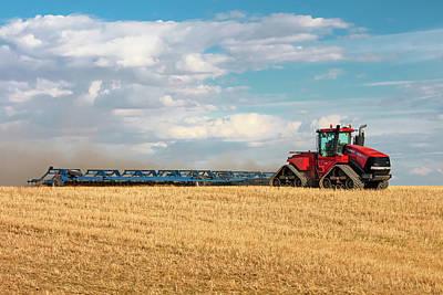 Wheat Photograph - Harrow Cart by Todd Klassy