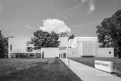 Hartford Seminary Print by University Icons