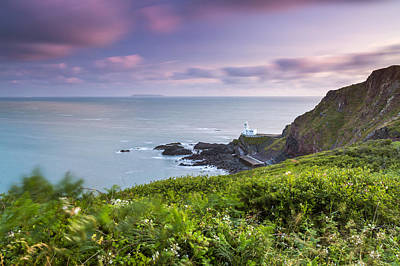 Blagdon Photograph - Hartland Point by Sebastian Wasek