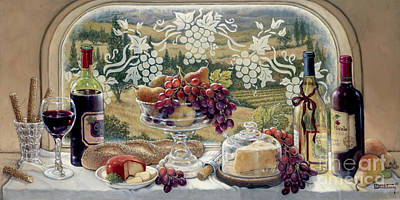 Harvest Celebration Print by Janet  Kruskamp