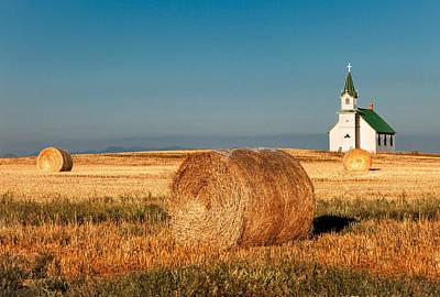 Harvest Church Print by Todd Klassy