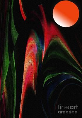 Harvest Moon Print by Terril Heilman
