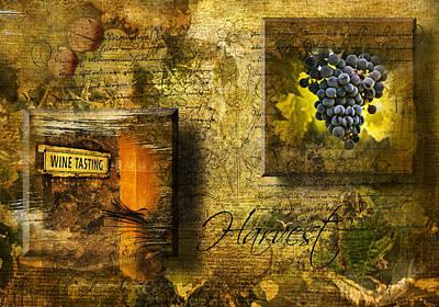 Phil Clark Photograph - Harvest by Phil Clark