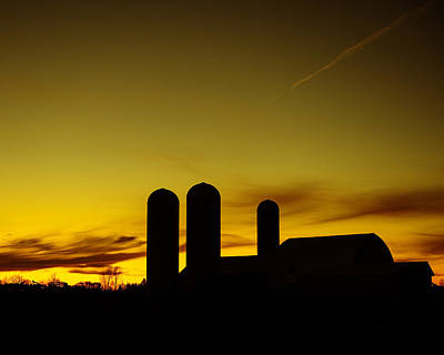 Harvest Sky Print by Tony Beck