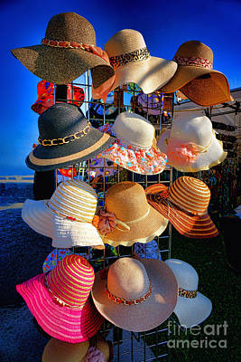 Hat Rack Print by Olivier Le Queinec