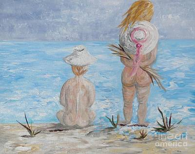 Sea Painting - Hats by Eloise Schneider