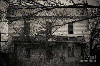 Abandoned Photograph - Haunted by Ashley M Conger