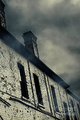 Haunted House Details Print by Jorgo Photography - Wall Art Gallery