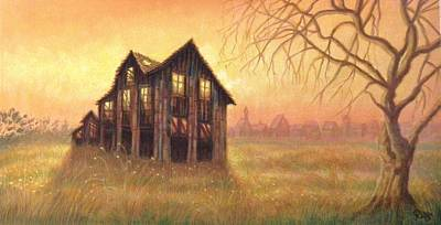 Haunted House Painting - Haunted House by Raffi Jacobian