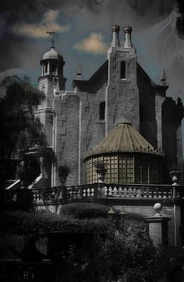 Haunted Mansion Digital Art - Haunted Mansion Disney World by Steven Smith