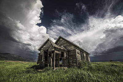 Abandoned House Photograph - Haunted by Peter Irwindale